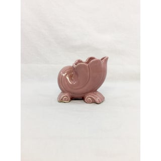 1950s Pink Shell Vase Preview