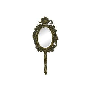 La Belle Époque Bronze Vanity Mirror For Sale
