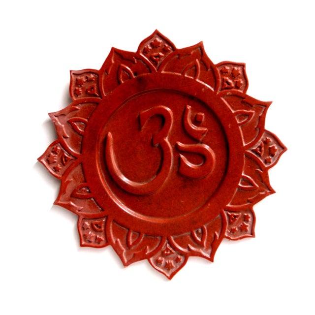 """Om"" Sanskrit Wall Plaque - Image 2 of 2"
