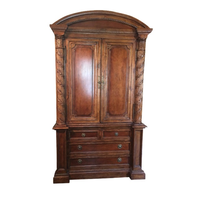 Hekman 2-Piece Armoire For Sale