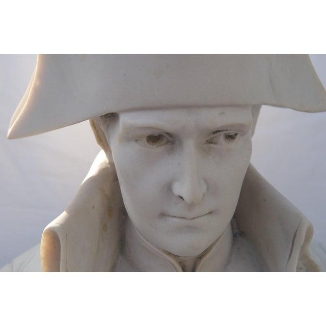 Antique Parian Bust of Napoleon Bonaparte For Sale - Image 12 of 13
