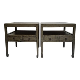 Spanish Becara End Tables-A Pair For Sale
