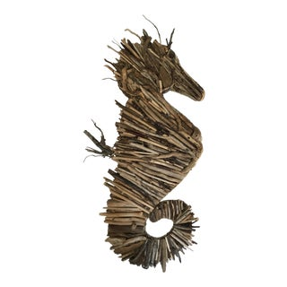 Driftwood Seahorse Sculpture For Sale