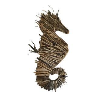 Driftwood Seahorse Sculpture