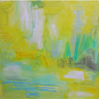 """""""Huka River Mist"""" by Trixie Pitts Abstract Expressionist Oil Painting For Sale"""