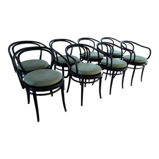 Thonet Era Arm Chair - Set of 8 For Sale