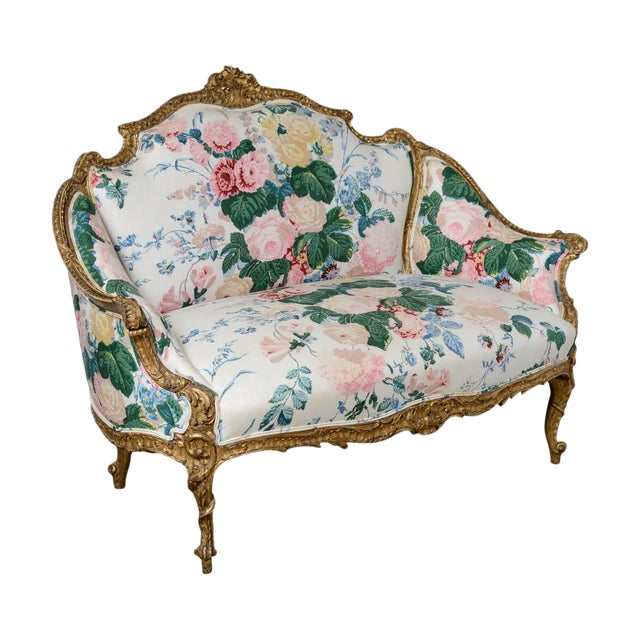 French Settee For Sale