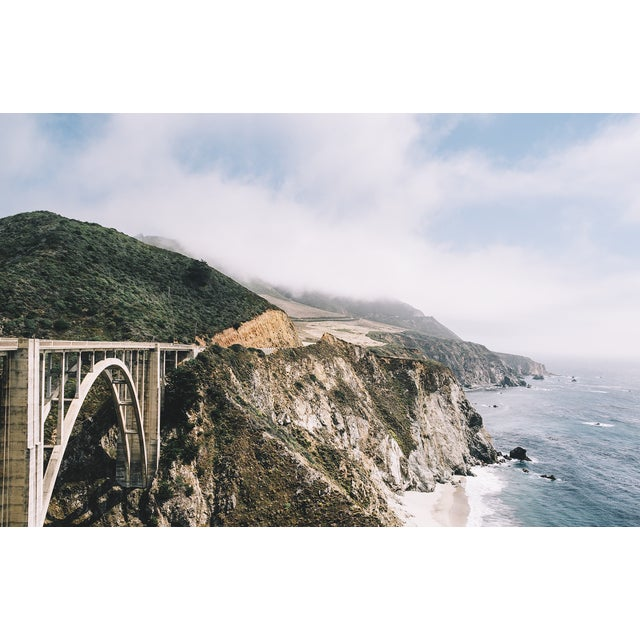 """Original """"Bixby Bridge"""" Framed 16x20 Photograph For Sale In Los Angeles - Image 6 of 6"""