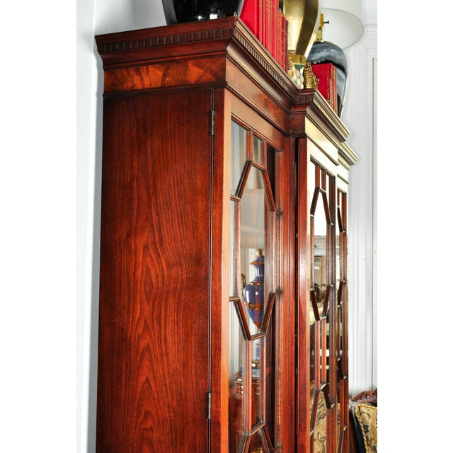 Mid 18th Century Sandwood Mahogany Hutch Cabinet For Sale - Image 10 of 12