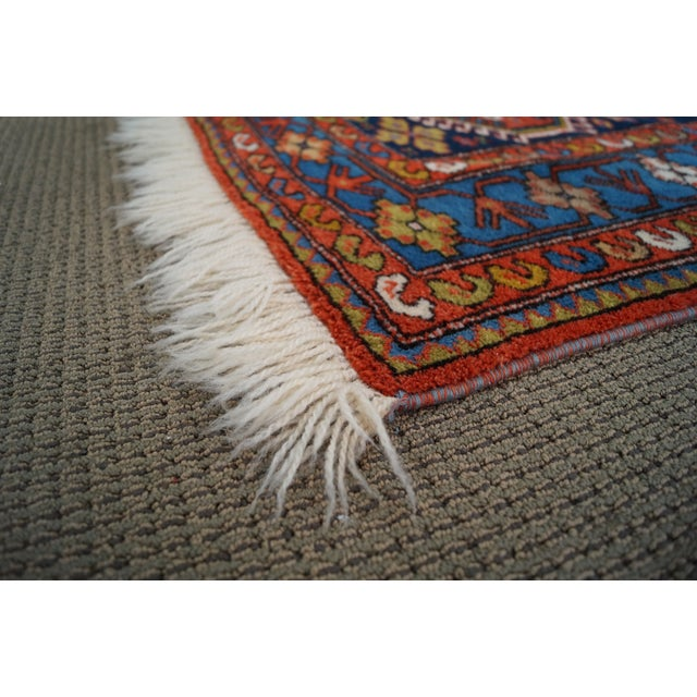 Quality Hand Tied Caucasian Rug - 3′7″ × 5′6″ For Sale - Image 4 of 10