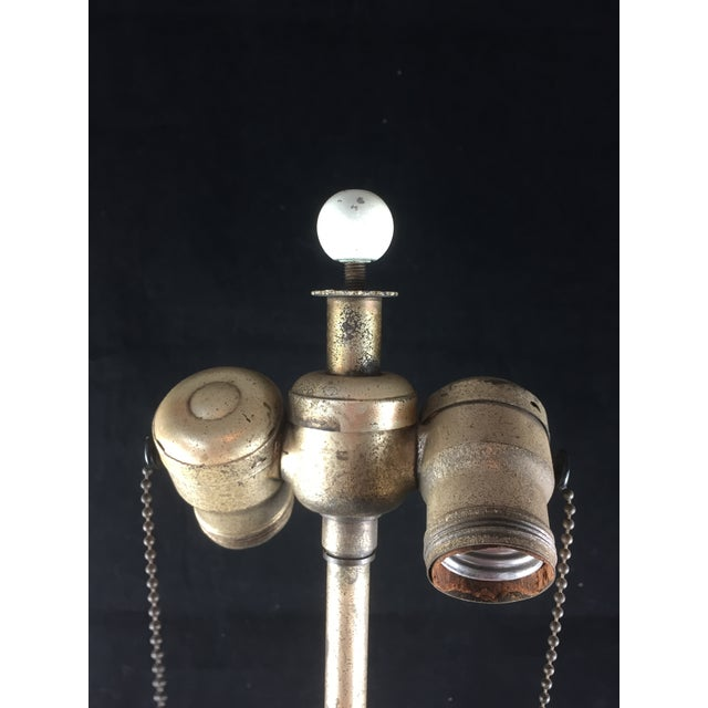 Bohemian Kralik Amphora Urn Table Lamp - Image 8 of 11