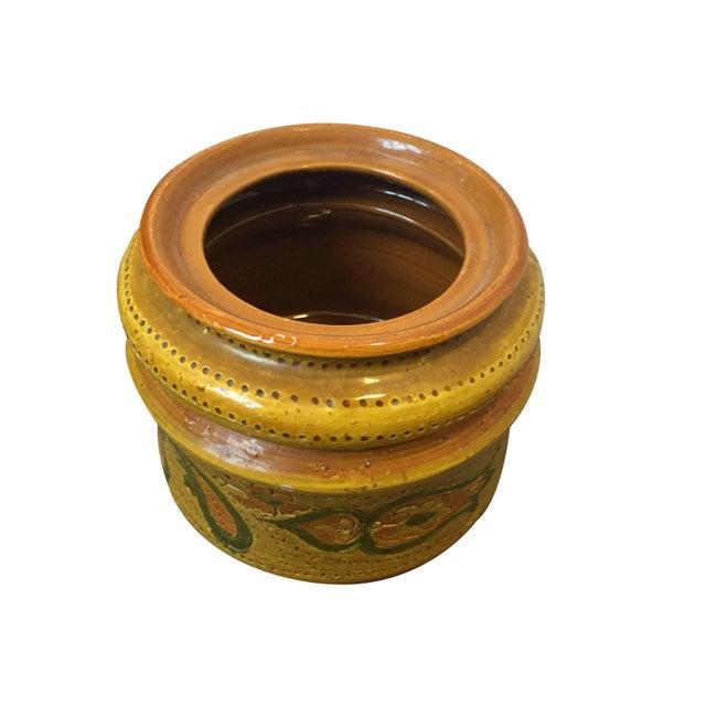 Aldo Londi Vintage Aldo Londi for Bitossi Tobacco Jar For Sale - Image 4 of 6