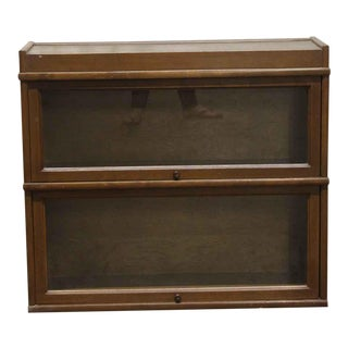 Vintage Barrister Bookcase For Sale