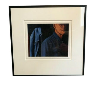 Alison Shaw Signed Easel and Self Portrait, Stanley Murphy Studio Pigment Print For Sale