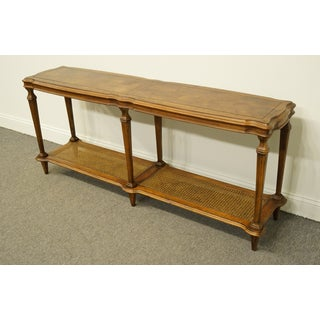 20th Century French Ethan Allen Legacy Collection Accent Sofa Table Preview