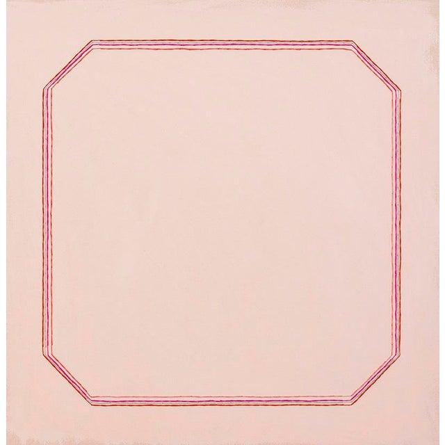 "Snail Pink Bevel Minimalist 16"" Art Print For Sale"