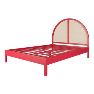 Eva Bed - Queen - Bull's Eye Red For Sale
