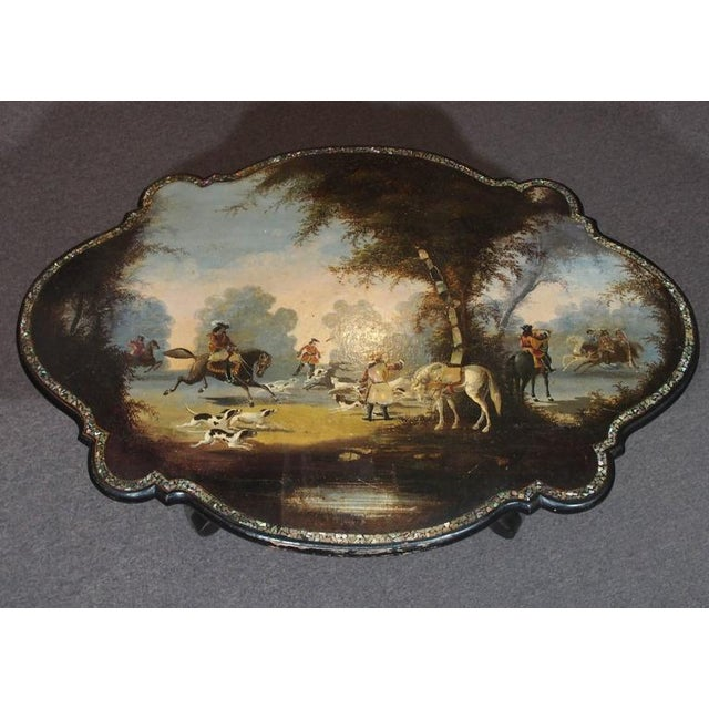 Antique English Victorian Coffee Table For Sale - Image 4 of 11