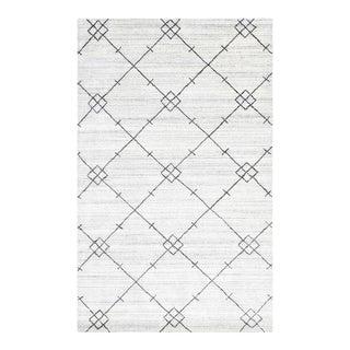Jasper, Bohemian Moroccan Hand Loom Area Rug, Gray, 8 X 10 For Sale
