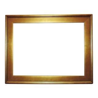 Vintage Golden Picture Frame For Sale
