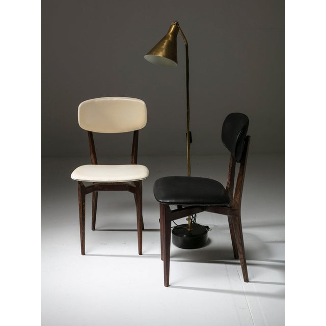 1950s Pair of Chairs Modrl 691 by Ico Parisi for Cassina For Sale - Image 5 of 6
