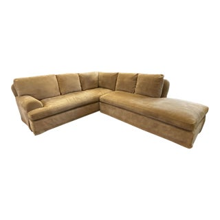 A. Rudin Two Piece Sectional For Sale