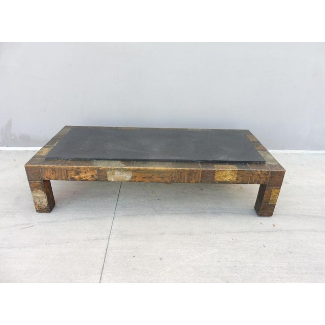 1970's Directional Paul Evans Patchwork Coffee Table For Sale - Image 9 of 9