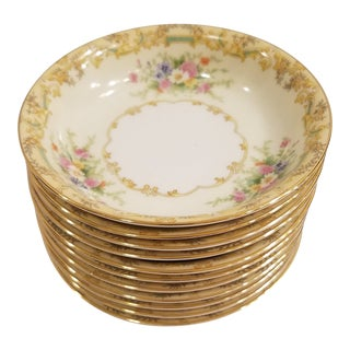 Noritake Gramatan Berry or Dessert Bowls - Set of 11 For Sale