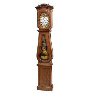 French Antique Long Case Clock For Sale