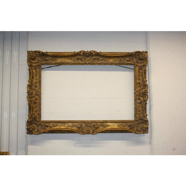 Antique Louis XIV Style Art Frame For Sale In Chicago - Image 6 of 6