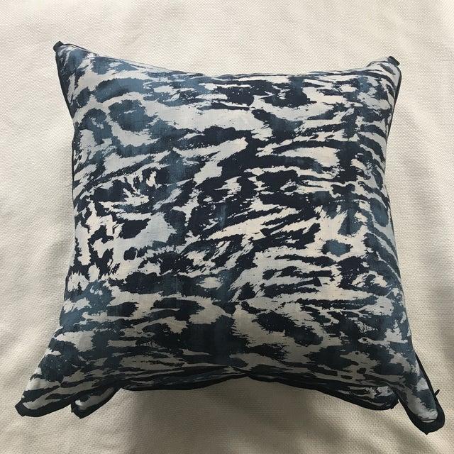"""Contemporary Schumacher """"Feline"""" Celerie Kemble Pillows - a Pair For Sale - Image 3 of 7"""