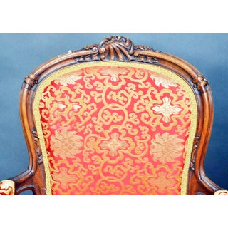 Late 19th Century French Carved Armchair Fauteiuls- a Pair Preview