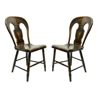 American Federal Hitchcock Side Chairs For Sale