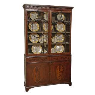George III Mahogany Bookcase For Sale