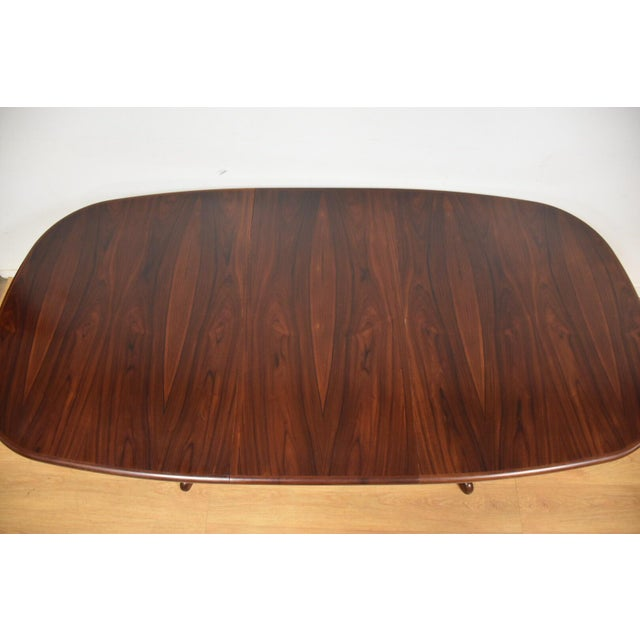 Danish Rosewood Dining Table - Image 9 of 11
