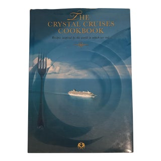 "1999 ""The Crystal Cruises Cookbook"" First Edition Book For Sale"