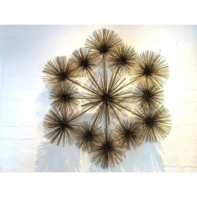 "Large Signed ""Pom Pom"" Wall Sculpture by Curtis Jere - Image 2 of 8"