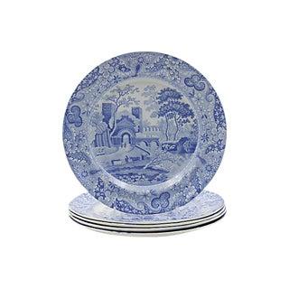 Antique Spode Italian Dinner Plates, C. 1820 - Set of 5 For Sale