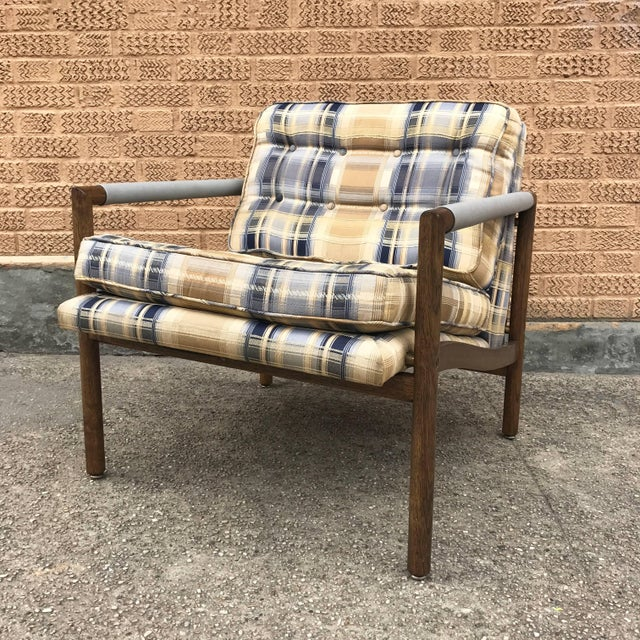 Mid-Century Modern Harvey Probber Style Upholstered Club Chairs- A Pair For Sale In New York - Image 6 of 11