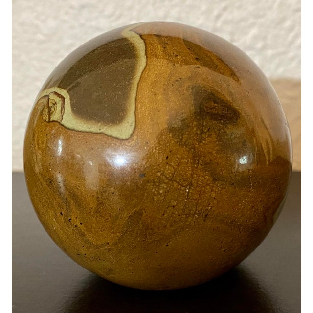 Mid-Century Modern Vintage Spanish Marble La Pedregala Paperweight For Sale - Image 3 of 7