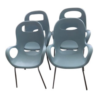 Umbra Oh! Surf Blue Chairs - Set of 4