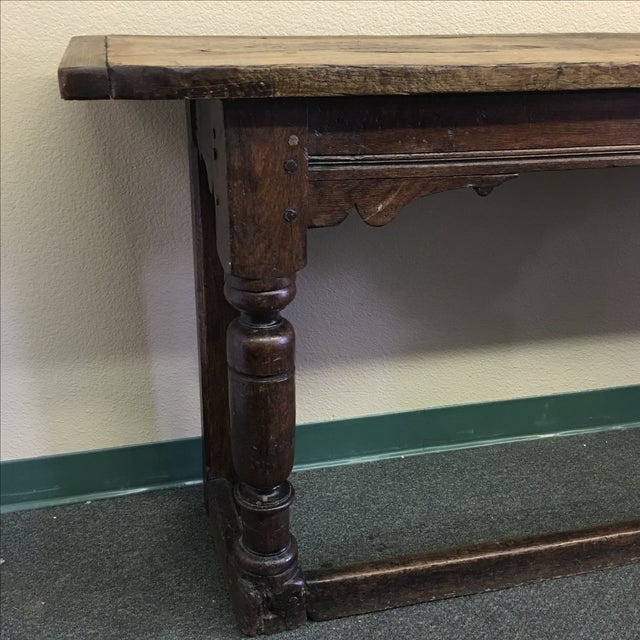 Vintage Console or Sofa Table - Image 5 of 11