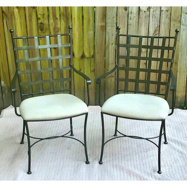 Spanish Charleston Forge Etrusche Dining Set - 3 Pieces For Sale - Image 11 of 12