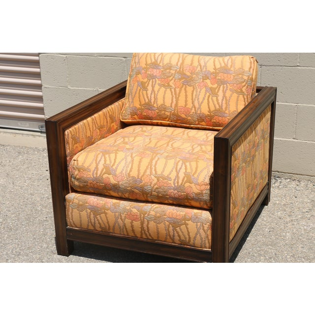 Retro Vintage Chair and Stool - Image 4 of 8