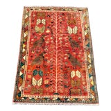 Image of 1970's Vintage Qashqai Small Area Rug For Sale