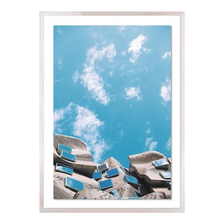 Bright Skies by Annie Spratt, Art Print in Natural Frame, Large For Sale