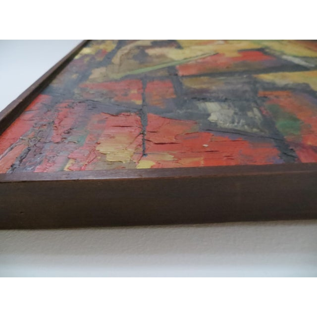 20th Century Abstract Painting by Manger For Sale - Image 4 of 5