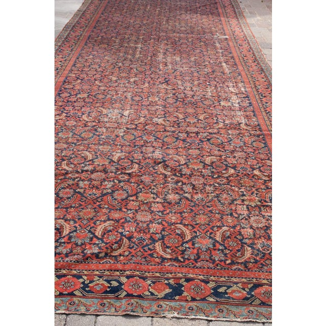 "Persian Malayer Palace Runner 7' x 19'2"" - Image 6 of 6"
