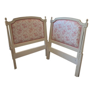 Louis Salomon Twin Bed Headboards - A Pair For Sale