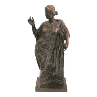 French Grand Tour Bronze Sculpture For Sale